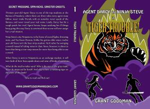 tiger trouble back cover author name on spine